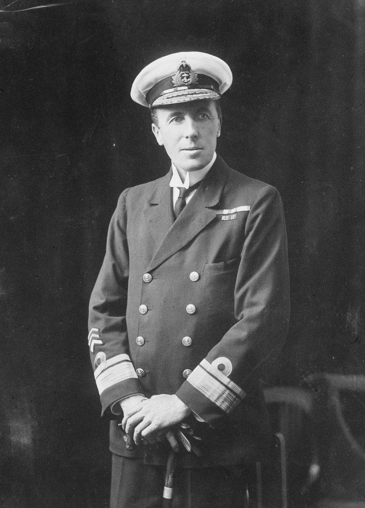 Detail of Admiral Sir George Hope by unknown