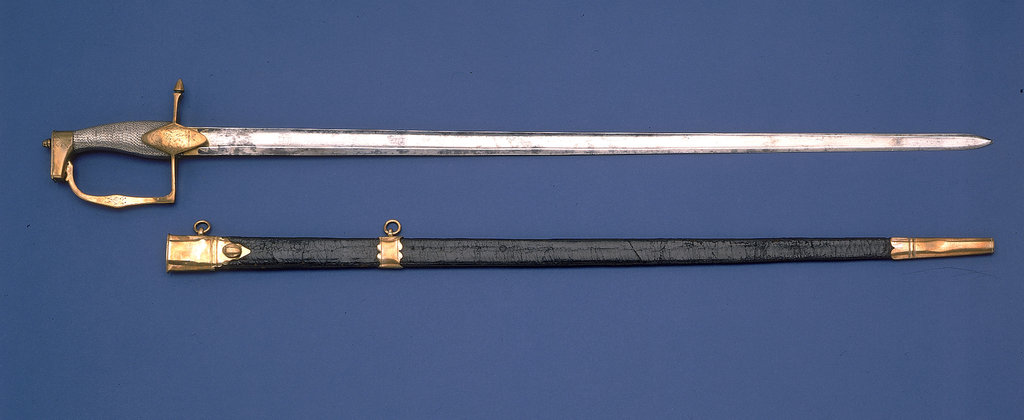Detail of Honourable East India Company sword by William Henry Archer