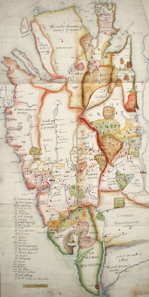 Detail of Ireland south of Limerick by unknown