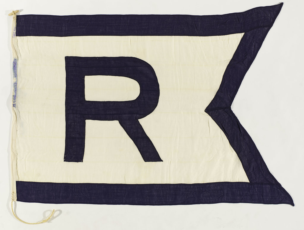 Detail of House flag, Walter Runciman & Co. by unknown