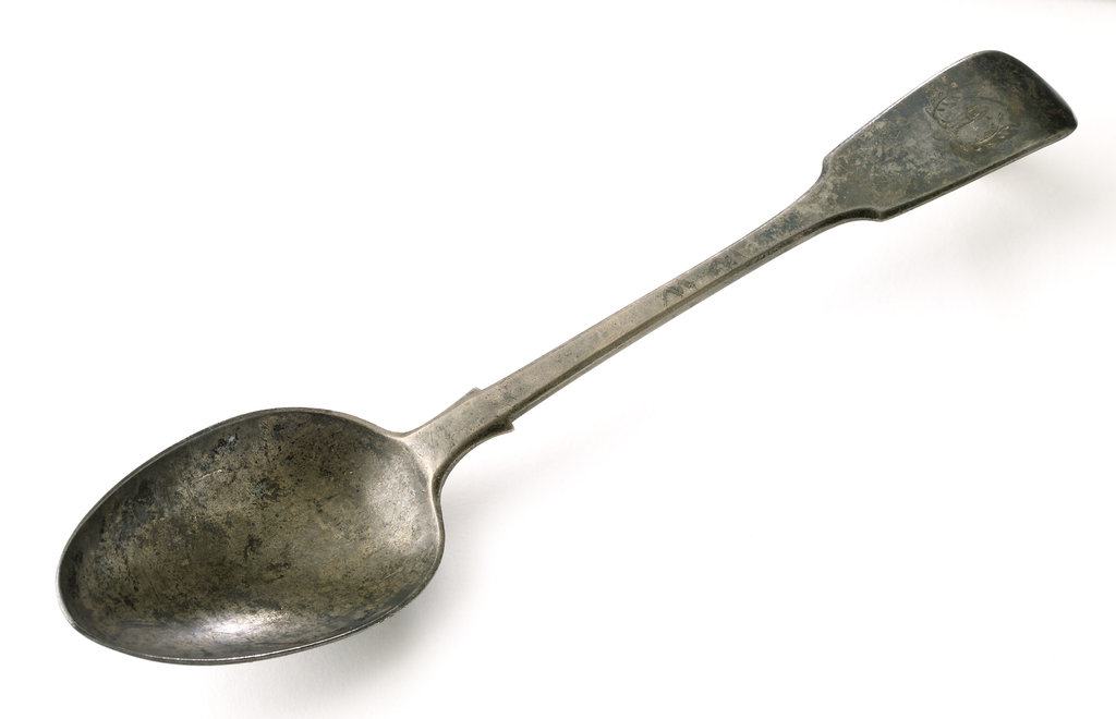 Detail of Tablespoon by George Adams