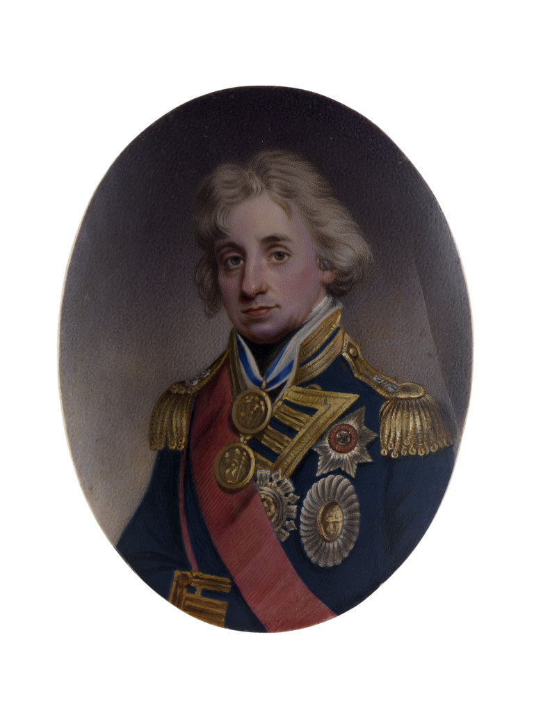 Detail of Vice-Admiral Horatio Nelson (1758-1805) by unknown