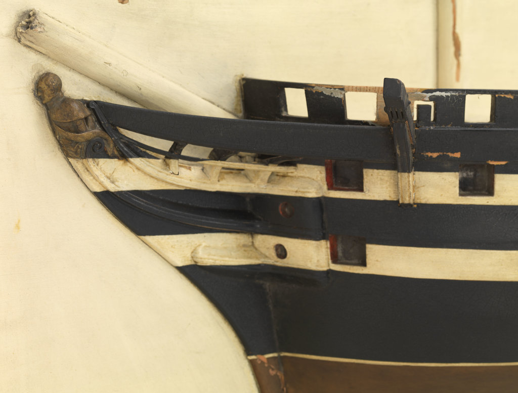 Detail of HMS 'Cumberland' (1842) by unknown