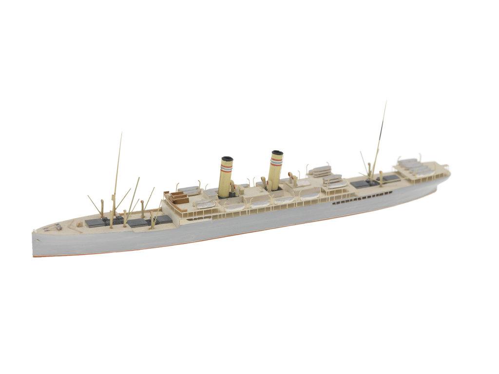 Detail of Passenger/cargo vessel by Reginald Carpenter