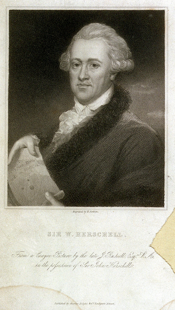 Detail of Sir W Herschell by John Russell